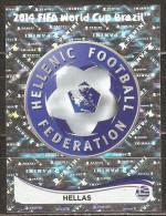 Coupe Du Monde De Football 2014 - Emblème De Grèce - 203 - Panini