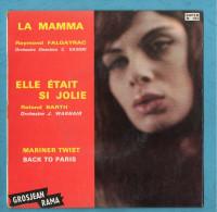 PUBLICITE GROSJEAN - Disque Vinyl 45T - Vinyl Records