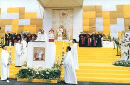 G.PAOLO II^ A D AGRIGENTO-TRAPANI-ERICEMAZARA DEL VALLO-CALTANISETTA - Papes