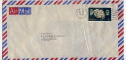 Kenya--1980--lettre De Nairobi  Pour Paris (France)--timbre Tourmaline (minéral,pierre) Seul Sur Lettre - Kenia (1963-...)