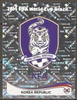 Coupe Du Monde De Football 2014 - Emblème De Corée Du Sud - 621 - Panini