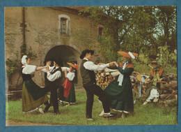 70 - LES GAUCH´NOTS ET GAUCH´NOTTES -AU CHAMPCAILLOUX - HAUTE-SAONE JOLIE- Non écrite -2 Scans-10.5 X 15- CIM - Trachten & Folklore