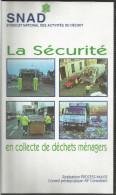 Cassette Video VHS, Collecte De Déchets Ménagers  SNAD Paris - Ramassage Des Poubelles, Camions, Sécurité - Cassettes Vidéo VHS