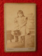 CDV ALBERT BRON PHOTO VIDAL A ORAN - Photographs