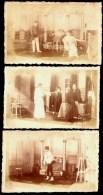 "LOT 3 CPA-PHOTOS ANCIENNES- FRANCE- SCENES DE THEATRE ""BLUNT""- PHOTOS SAMSON & CO.- ATELIER KREFELD- - Foto"