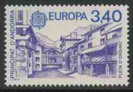 Andorra French Post 1987 Mi 380 YT 359 Sc 353 ** Ordino Winter Sports Center / Wintersportzentrum Pleta D' Ordino - Other
