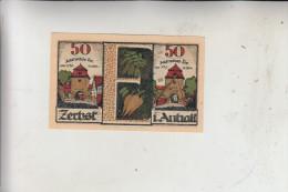 0-3400 ZERBST, Notgeld 50 Pfennig, 1921 - [11] Emissioni Locali