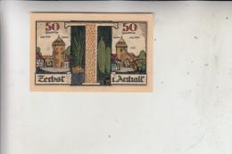 0-3400 ZERBST, Notgeld 50 Pfennig, 1921 - Lokale Ausgaben