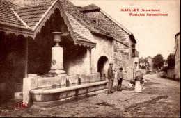 Mailley (Haute Saône)  Fontaine Intermitente - Animée Rare - France