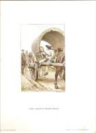 LITHOGRAPHIE - MANON LESCAUT -  Revue Des Arts Graphiques - Graveur Gillot - Dessin Maurice Leclair ? - Lithographies