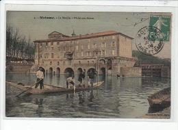MOISSAC - Le Moulin - Pêche Aux Aloses - TOILLEE - état - Moissac