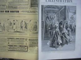 L'ILLUSTRATION 2427 ILE DE BERDER/ GRANDE CHARTREUSE /EXPOSITION 31 AOUT 1889 - Journaux - Quotidiens