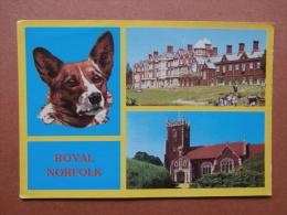 35481 PC: NORFOLK: Royal Norfolk - Sandringham House & Sandringham Church. - Inglaterra