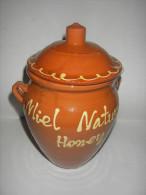 Aardewerk Honingpot - In Goede Staat - Miel Natural Honey - Cosecha Propia - Autres Collections
