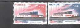 Skandinavien-Gemeinschaftsausgaben Norwegen 662 - 663 Haus Des Nordens Reykjavik  MNH  Postfrisch ** - Emissions Communes