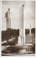 1938 SCOTLAND EXHIBITION - NORTH CASCADE AND TOWER RP   Gls34 - Exhibitions