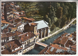 ST JEAN PIED DE PORT 64 - Eglise Notre Dame Et Vieux Jean - CPSM Dentelée GF 1965 - Pyrenées Atlantiques - Saint Jean Pied De Port