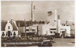 1938 SCOTLAND EXHIBITION - SOUTH AFRICAN, NEW ZEALAND And CANADIAN PAVILIONS RP   Gls42 - Exhibitions