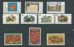 St Christophe: 213/ 215 + 255/ 261 ** - St.Kitts-et-Nevis ( 1983-...)