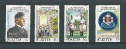 St Kitts: 531/ 534 ** (le 534 Non Compté) - St.Kitts-et-Nevis ( 1983-...)