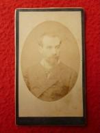 CDV LAFARGUE A VICTOR SIRBEN PHOTO DECAP A TOULOUSE 1882 - Fotos