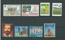 St Kitts: 606/ 607 + 617/ 620 + 661/ 662 ** - St.Kitts-et-Nevis ( 1983-...)
