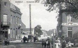 Hasselt : Kempische Poort - Carte Animé + Café (vierge) - Hasselt
