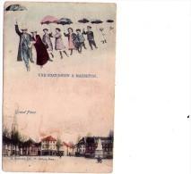 Maesseyck : Une Excursion à..... - Carte Couleur (1910) - Maaseik