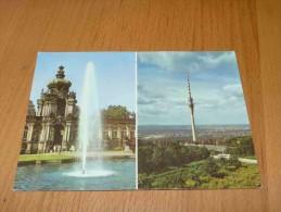 Dresden Kronentor Des Zwingers Fernsehturm Germany Deutschland - Dresden