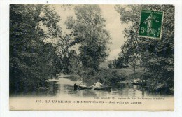 CP , 94 , LA VARENNE-CHENNEVIERES , Joli Coin De Marne - France