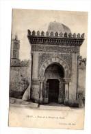 Cp , ALGERIE , ORAN , Porte De La Mosquée Du Pacha , Dos Simple - Oran