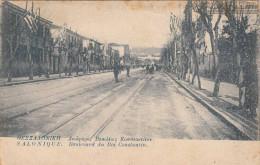 SALONIQUE - Boulevard Du Roi Constantin - Griechenland