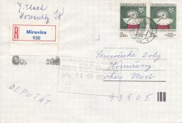C10248 - Czechoslovakia (1992) 398 06 Mirovice (stamps: Biennial Of Illustrations Bratislava) - Kunst