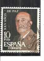 España/Spain-(usado) - Edifil  1589 - Yvert  1241 (o) - 1961-70 Usados