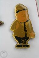 Oliver Hardy  - Pin Badge  #PLS - Personajes Célebres