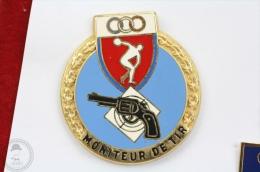 Moniteur De Tir - Police  Pin Badge  #PLS - Policia