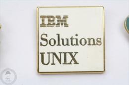 IBM - Solutions UNIX - Arthus Bertrand Paris - Pin Badge #PLS - Arthus Bertrand