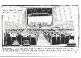 PROMOCARD N°  9380   TEATRO DEGLI ARCIMBOLDI MILANO - Pubblicitari