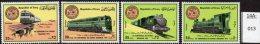 ** Iraq 1975 Set/4 Railway Trains / Locomotives U/m (MNH) - Trains