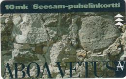 FINLAND - Ars Nova/Aboa Vetus, Turun Puhelin telecard, CN : 5010, tirage 9000, exp.date 12/97, used