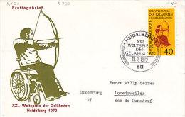 D-Heidelberg 1972. Weltspiele Der Gelähmten 1972 (5.526 - BRD