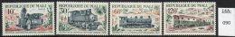 ** Mali Railways / Trains : 1972 Set/4 Fine U/m (MNH) - Trains