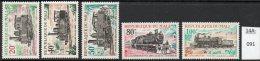 ** Mali Railways / Trains : 1970 Set/4 Fine U/m (MNH) - Trains
