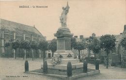 BREHAL - Le Monument Aux Morts (voir Scan Du Dos) - Brehal