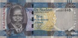 South Sudan 10 Pounds  (Pnew) 2011 -UNC- - Sudan