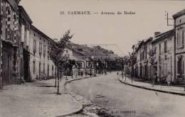 D - 81 - Tarn. - CARMAUX - Avenue De Rodez. - E. C. CARMAUX. - (voir Scan). - Carmaux