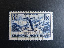 FRANCE C N° 334 1937 Cne 310 Perforé Perforés Perfins Perfin Superbe  !! - Frankreich