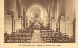 MOULINS - Pensionnat Sainte Thérèse Intérieur De La Chapelle - Bon état - Moulins