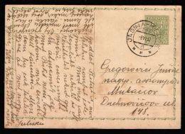 Czechoslovakia / Carpathian Ukraine 1937 Postcard Railway TPO # 993 Jasina - Kosice - Ukraine