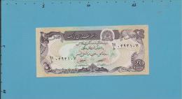 Afghanistan -  20 Afghanis - SH 1358 ( 1979 ) - P 56 - UNC. - 2 Scans - Afghanistan